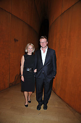 MARIELLA FROSTRUP and JASON McCUE attend the private view of Anish Kapoor's latest exhibition at the Royal Academy of Arts, Piccadilly, London on 22nd September 2009