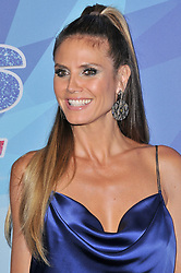 """Heidi Klum at the NBC """"America's Got Talent"""" Season 12 Live Show held at the Dolby Theater in Hollywood, CA on Tuesday, August 22, 2017. (Photo By Sthanlee B. Mirador/Sipa USA)"""