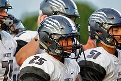 31 August 2018: Normal West Wildcats at Normal Community Ironmen (2018 Chili Bowl) football, Normal Illinois<br /> <br /> #bestlookmagazine #alphoto513 #IHSA #IHSAFootball #Ironfootball  #Wildcats
