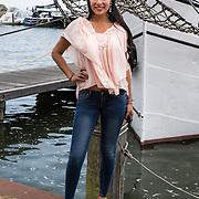 NLD/Volendam/20140626 - 100%NL magazine bestaat 5 jaar, Yasmine Verheijen