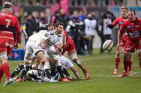 Julien Thomas - 28.12.2014 - Stade Francais / Racing Club Toulon - 14eme journee de Top 14<br />Photo : Aurelien Meunier / Icon Sport