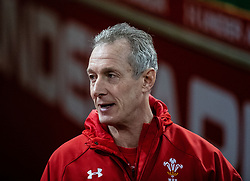 Attack Coach Rob Howley of Wales<br /> <br /> Photographer Simon King/Replay Images<br /> <br /> Six Nations Round 5 - Wales v Ireland Captains Run - Saturday 15th March 2019 - Principality Stadium - Cardiff<br /> <br /> World Copyright © Replay Images . All rights reserved. info@replayimages.co.uk - http://replayimages.co.uk