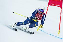 Elena Curtoni (ITA) during the Ladies' Giant Slalom at 57th Golden Fox event at Audi FIS Ski World Cup 2020/21, on January 16, 2021 in Podkoren, Kranjska Gora, Slovenia. Photo by Vid Ponikvar