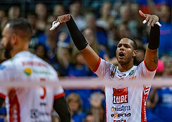 18-05-2019 GER: CEV CL Super Finals Zenit Kazan - Cucine Lube Civitanova, Berlin<br /> Civitanova win the Champions League by beating Zenit in four sets / Yoandy Leal Hidalgo #9 of Cucine Lube Civitanova