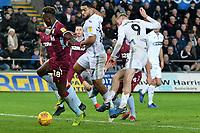 Football - 2018 / 2019 Championship - Swansea City vs Aston Villa<br /> … at the Liberty Stadium.<br /> <br /> Oliver McBurnie of Swansea City fails to score <br /> <br /> Credit: COLORSPORT/Winston Bynorth