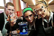 Students at Resurrection High School attend a science class. May 1, 2012 l Brian J. Morowczynski~ViaPhotos.