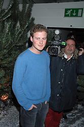 GUY PELLY at a party to present the Fall/Winter Collection 2007/2008 of Moncler the French mountaineering brand held at 10 Mercer Street, London WC2 on 13th February 2007.<br />