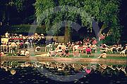 Harrisburg, PA, Italian Lake Concert, Uptown City Park