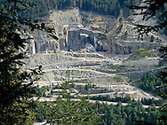 Valtellina, Chiesa Valmalenco (SO): cave di marmo