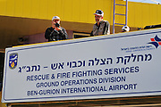 Israel, Ben-Gurion international Airport Rescue and Fire Fighting Services