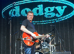Dodgy play the main stage. Sunday at Party at the Palace 2017, Linlithgow.