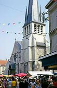 Église Saint-Rémy de Troyes church, Troyes France 1976