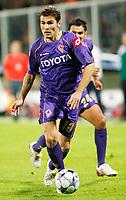Fotball<br /> Italia<br /> Foto: Inside/Digitalsport<br /> NORWAY ONLY<br /> <br /> Adrian Mutu (Fiorentina)<br /> <br /> 05.11.2008<br /> Champions League 2008/2009<br /> Fiorentina v Bayern München (1-1)