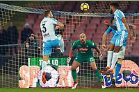 Gol di Stefan de Vrij Lazio goal celebration<br /> Napoli 10-02-2018  Stadio San Paolo <br /> Football Campionato Serie A 2017/2018 <br /> Napoli - Lazio<br /> Foto Cesare Purini / Insidefoto