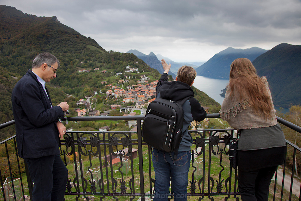 """The small village of Bre above Lugano, Switzerland on Lake Lugano.""""Lugano is a city in the south of Switzerland, in the Italian-speaking canton of Ticino, which borders Italy. The population of the city proper was 55,151 as of December 2011, and the population of the urban agglomeration was over 145,000. Wikipedia"""""""