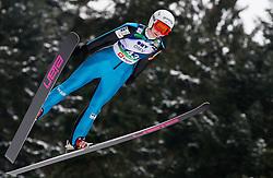 Katja Pozun of Slovenia during Normal Hill Individual Competition at FIS World Cup Ski jumping Ladies Ljubno 2012, on February 11, 2012 in Ljubno ob Savinji, Slovenia. (Photo By Vid Ponikvar / Sportida.com)