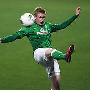 Werder Bremen's Kevin De Bruyne during their Tuttur.com Cup matchday 2 soccer match Trabzonspor between  Werder Bremen at Mardan stadium in AntalyaTurkey on 07 Monday January, 2013. Photo by Aykut AKICI/TURKPIX