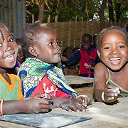 Kids at Koumbadiouma's primary school. Kolda, Senegal.