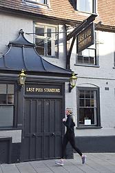 Last Pub Standing, Norwich UK - named as it's the last pub on King Street 2020