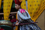 The Paro Tshechu is the largest Buddhist Festival in Bhutan, 2014