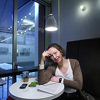 Nederland, Den Haag , 14 februari 2011..Carolien van der Rest, manager van Bhuro...Foto:Jean-Pierre Jans