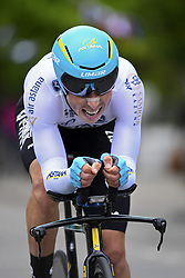 June 7, 2017 - Bourgoin Jallieu, France - BOURGOIN-JALLIEU, FRANCE - JUNE 7 : CHERNETSKI Sergey (RUS) Rider of Astana Pro Team during stage 4 of the 69th edition of the Criterium du Dauphine Libere cycling race, an individual time trail of 23,5 kms between La Tour-du-Pin and Bourgoin-Jallieu on June 07, 2017 in Bourgoin-Jallieu, France, 7/06/2017 (Credit Image: © Panoramic via ZUMA Press)