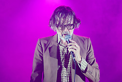 Jarvis Cocker at Leith Theatre during Edinburgh International Festival 2019. The Pulp  former frontman returns to the International Festival with his new project JARV IS.