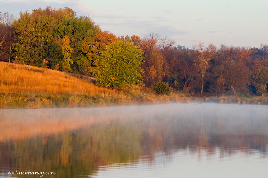 Lower Mound Lake  at Blue Mounds State Park in Minnesota
