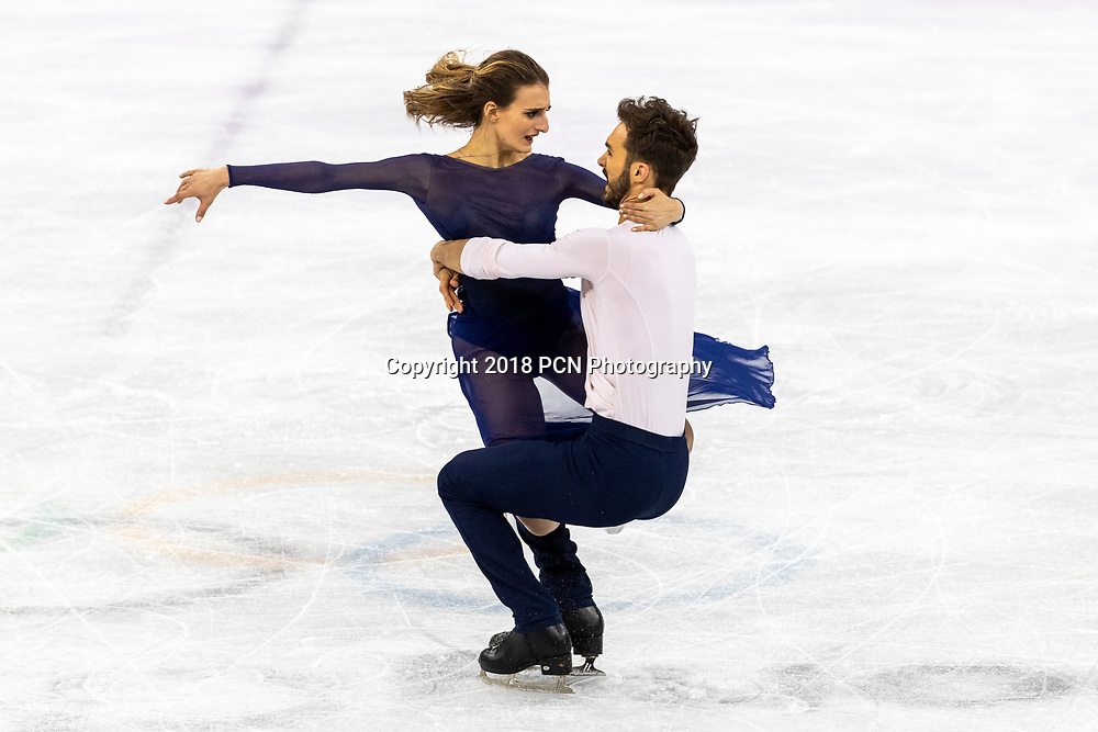 Gabriela Papadakis/Guillaume Cizeron (FRA) win the silver medal in Figure Skating Ice Dance at the Olympic Winter Games PyeongChang 2018