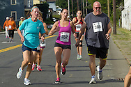 Middletown, New York - People enjoy the ORMC Run 4 Downtown race, Zumba in the Street and Taste of Middletown on Aug. 17, 2013.