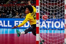 05-12-2019 JAP: Cuba - Slovenia, Kumamoto<br /> Fourth match groep A at 24th IHF Womenís Handball World Championship. Slovenia win 39 - 26 of Cuba / Indiana Cedeno Ramos #12 of Cuba