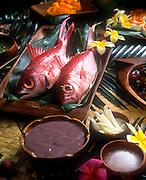 Luau food, Hawaii