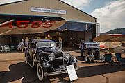 1932 Lincoln Victoria at Wings and Wheels at Oregon Aviation Historical Society.