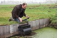 Waterschappers aan het werk
