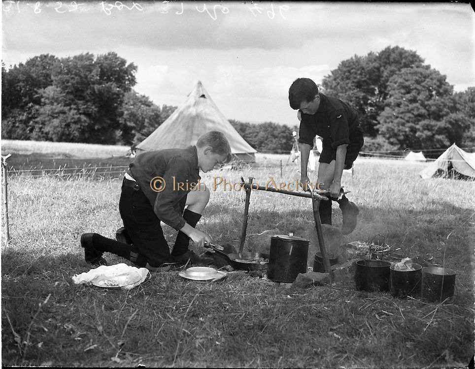 31/8/1952<br /> 8/31/1952<br /> 31 August 1952<br /> <br /> All Ireland Scout Contest at Larch Hill