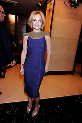 MARIELLA FROSTRUP at the 2008 British Fashion Awards held at the Lawrence Hall, Westminster, London on 25th November 2008.