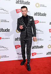 EDITORIAL USE ONLY<br /> Harry Judd attends the Virgin Holidays Attitude Awards at the Roundhouse, London.