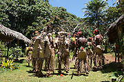 South Pacific, The Republic of Vanuatu, Shefa Provence, Epule River Valley Islanders in traditional dress