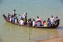 People Arriving From Across the Ayeyarwady River