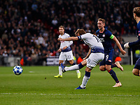 Football - 2017 / 2018 UEFA Champions League - Group B: Tottenham Hotspur vs. PSV Eindhoven<br /> <br /> Harry Kane (Tottenham FC)  with an attempt at the PSV goal at Wembley Stadium.<br /> <br /> COLORSPORT/DANIEL BEARHAM