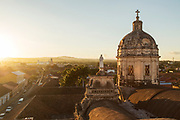 Dome of La Merced Church in Granada, Nicaragua