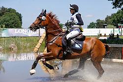 LUHMÜHLEN - Longines CCI5*-L/CCI4*-S Meßmer Trophy<br /> Deutsche Meisterschaften 2021<br /> <br /> ROMEIKE Louise (SWE), Wieloch's Utah Sun <br /> Teilprüfung Gelände<br /> CCI4*-S Meßmer Trophy<br /> Cross-Country<br /> <br /> Luhmühlen, Turniergelände<br /> 19. June 2021<br /> © www.sportfotos-lafrentz.de/Stefan Lafrentz