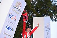 Podium, BOASSON HAGEN Edvald (NOR) Dimension Data, during the 7th Tour of Oman 2016, Stage 2, Omantel Head Office - Quriyat 250m (162Km), on February 17, 2016 - Photo Tim de Waele / DPPI