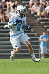 09 May 2009: North Carolina Tar Heels attackman Thomas Wood (2) during a 15-13 win over the University of Maryland - Baltimore County Retrievers on Fetzer Field in Chapel Hill, NC.