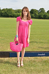 LADY VIOLET MANNERS at the Laureus Polo held at Ham Polo Club, Ham, Richmond, Surrey on 18th June 2015.
