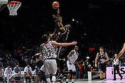Michael Umeh<br /> Segafredo Virtus Bologna - Kontatto Fortitudo Bologna<br /> Campionato Basket LNP 2016/2017<br /> Bologna 06/01/2017<br /> Foto Ciamillo-Castoria