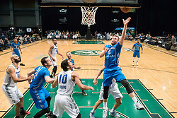 March 20, 2017 - Reno, Nevada, U.S - Texas Legends Guard KYLE COLLINSWORTH (6) shoots a layup during the NBA D-League Basketball game between the Reno Bighorns and the Texas Legends at the Reno Events Center in Reno, Nevada. (Credit Image: © Jeff Mulvihill via ZUMA Wire)