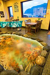 Crab Shack in the fishing village of Heda Port on the west coast of the Izu Peninsula.