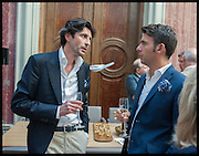 BENJAMIN PROUST; FLAVID GIANASSI, Drinks party to launch this year's Frieze Masters.Hosted by Charles Saumarez Smith and Victoria Siddall<br />  Academicians' room - The Keepers House. Royal Academy. Piccadilly. London. 3 July 2014