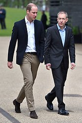 © Licensed to London News Pictures. 16/05/2016. The Duke of Cambridge attends the launch of their Heads Together campaign to eliminate stigma on mental health London, UK. Photo credit: Ray Tang/LNP